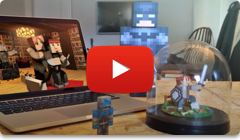 Minecraft toy video